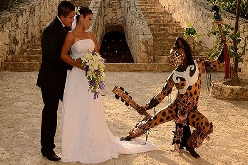 boda-maya-en-xcaret