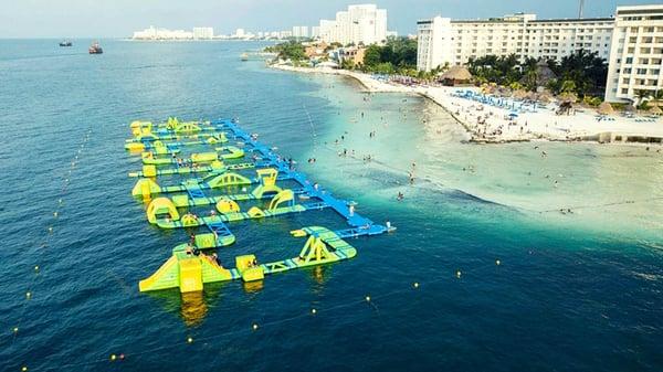 Delphinus playas publicas Cancun Playa Langosta